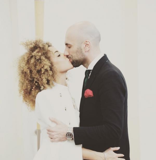 Фото со свадьбы Евгения Папунаишвили и Салимы Бижабер