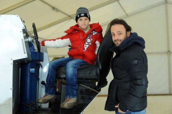 Илья Авербух с сыном Мартином