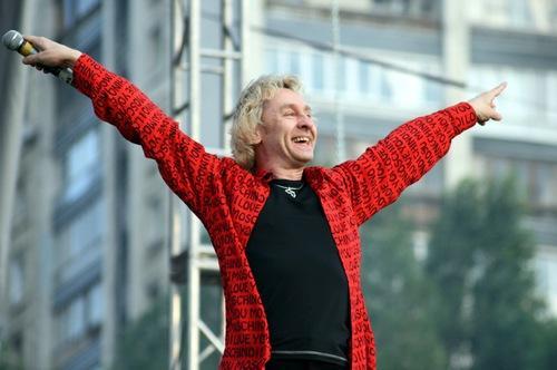 Сергей Беликов на сцене
