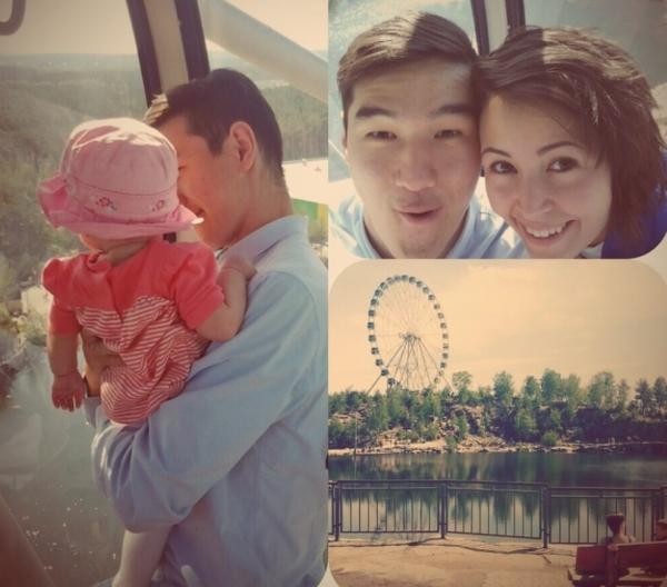 Фото нурлан сабуров с женой фото