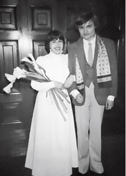 Александр Васильев с бывшей женой Анной