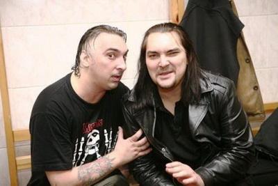 На фото - Алексей и Михаил Горшеневы