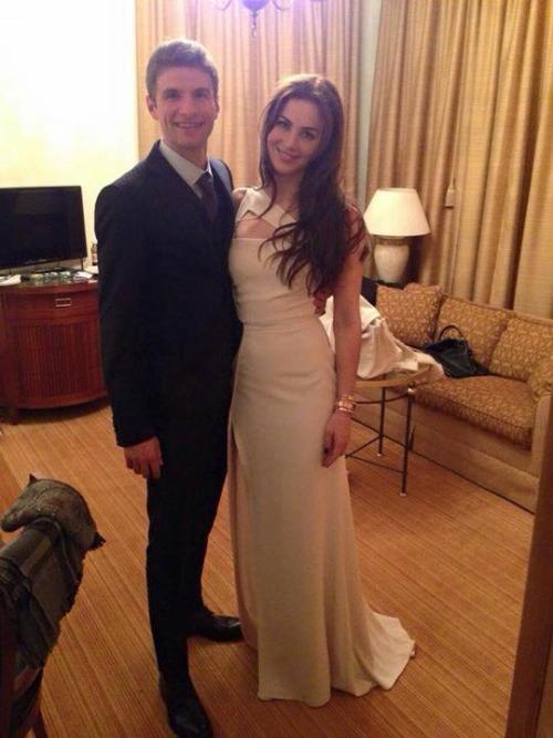 Свадьба томаса мюллера