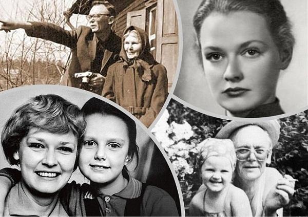 Семья Гайдая: мама, жена и дочь