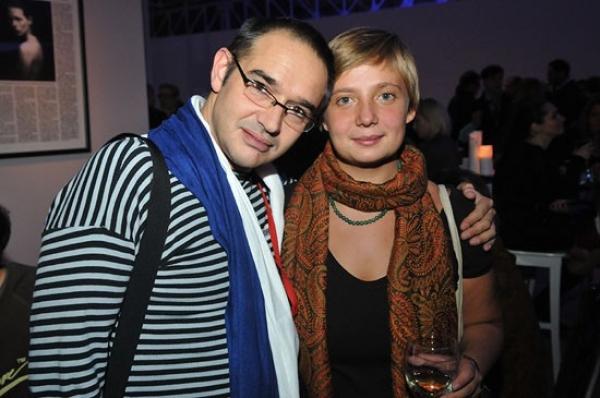 С женой - Анной Писаревской