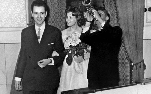 Аркадий Инин с женой