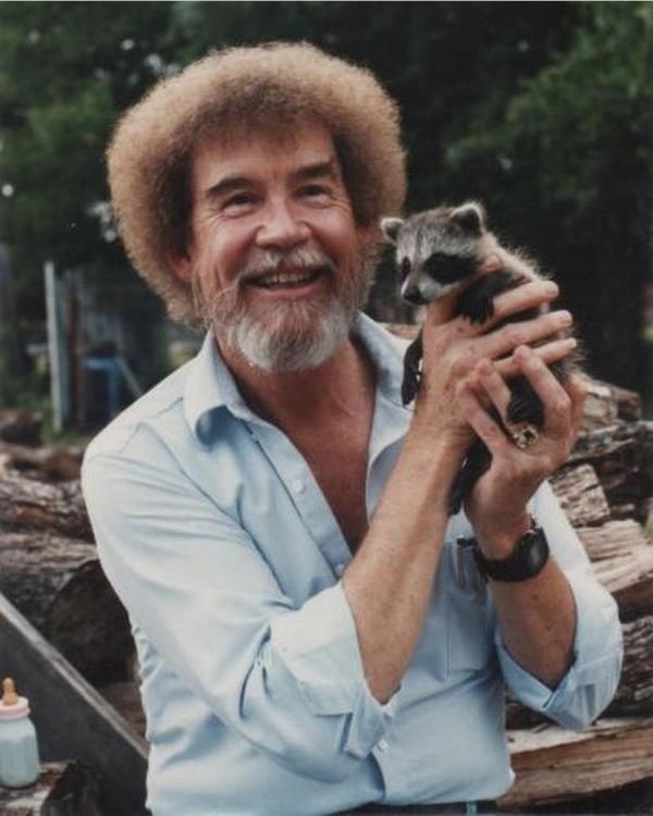 Боб Росс с детства любил животных