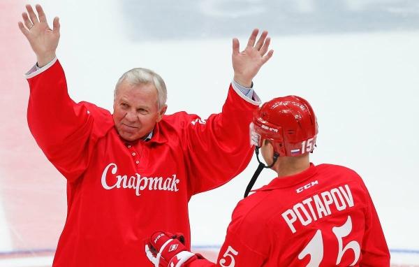 Борис Майоров - заядлый «спартаковец»