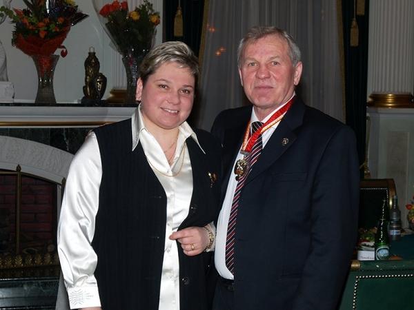 Борис Майоров с дочерью Юлией