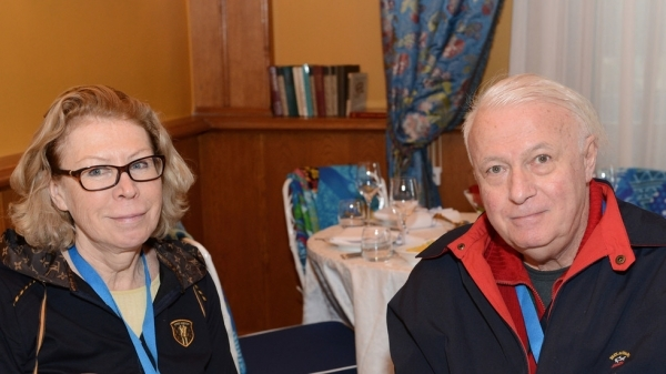 Борис Ноткин с женой Ириной