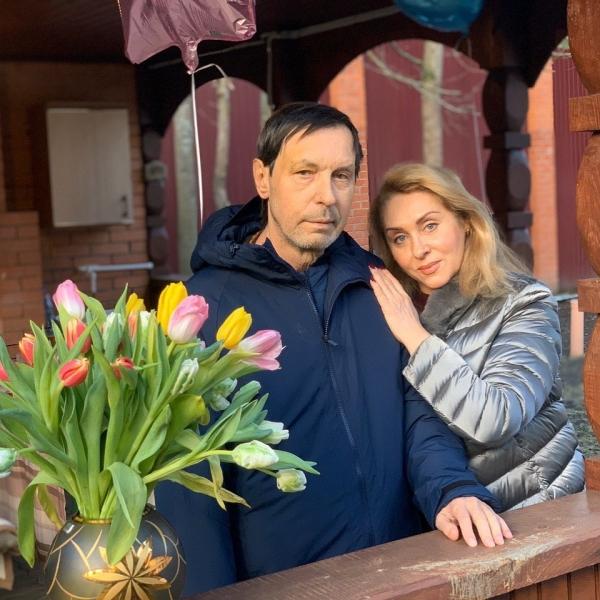 Николай Носков с супругой Мариной