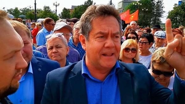 Платошкина обвиняют в организации акций протеста