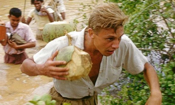 Дэвид Аттенборо во время экспедиции
