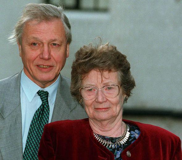 На фото: Дэвид Аттенборо и его жена Джейн Элизабет Эбсуорт Ориэл