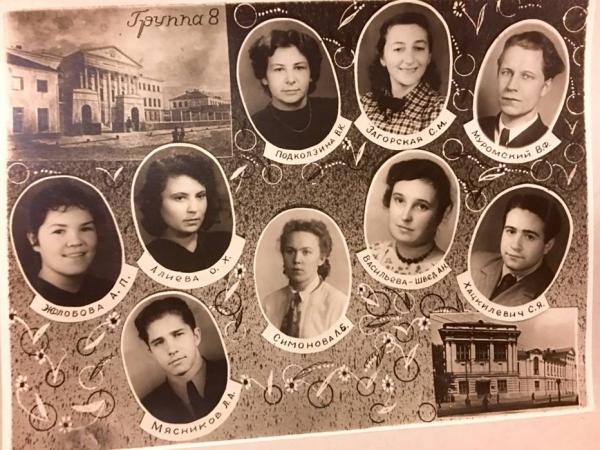 Выпускное фото родителей Мясникова