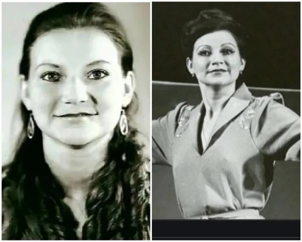 Елена Степаненко в юности