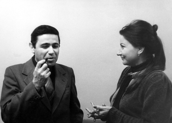 Петросян с Еленой Степаненко
