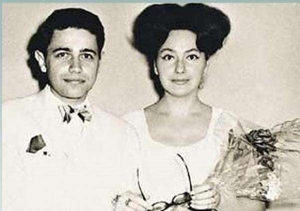 Евгений Петросян с Анной Козловской