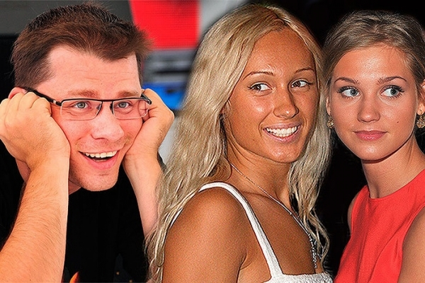 Гарик Харламов, Юлия Лещенко, Кристина Асмус