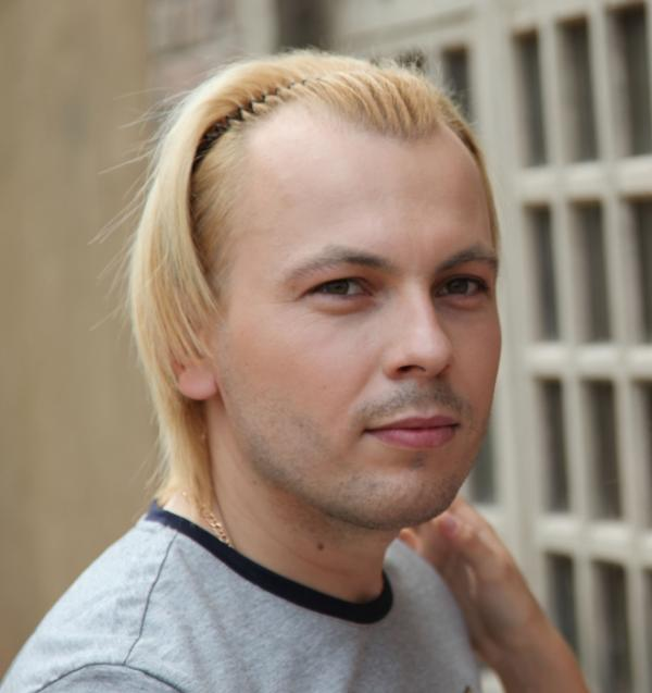 На фото: Ярослав Сумишевский в начале карьеры