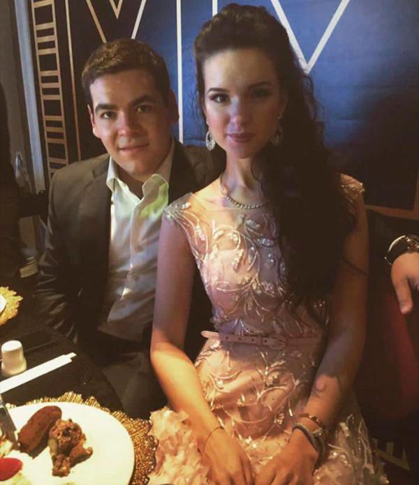 Дочь Андрея Воробьева с мужем