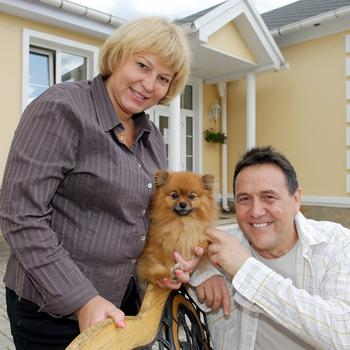 Ибрагимов с женой Альбиной
