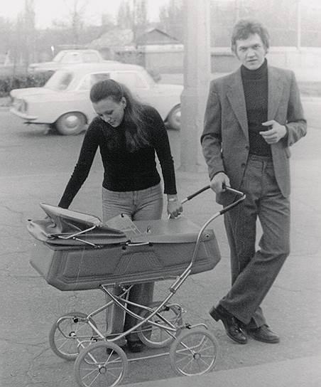 Семья Тимченко в начале семейной жизни