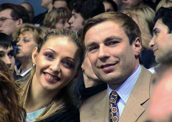На фото: Александр Жулин и Татьяна Навка