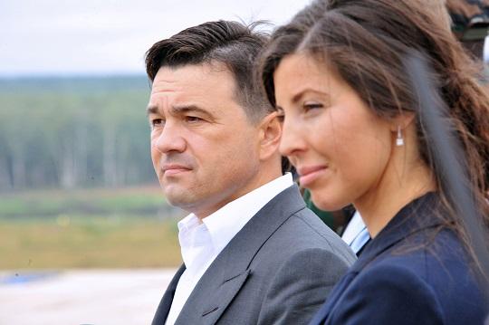 На фото: Андрей Воробьев и Екатерина Багдасарова