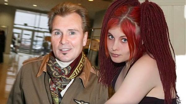 Александр Малинин с дочкой Кирой