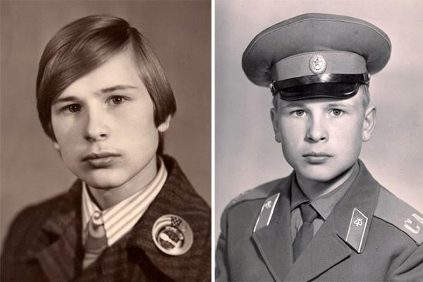 Александр Малинин в юности