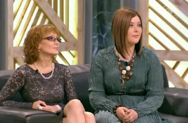 Ольга Зарубина с дочерью Кирой