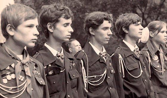 Александр Малинин в Кружке «Юный лазаревец»