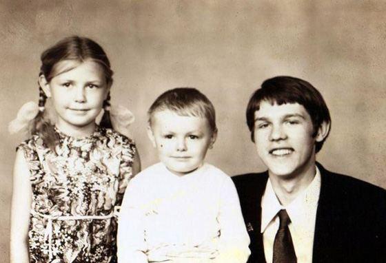 Семья Александра Новикова