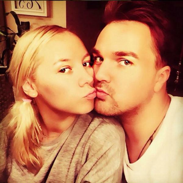 На фото: Александр Панайотов с женой Екатериной
