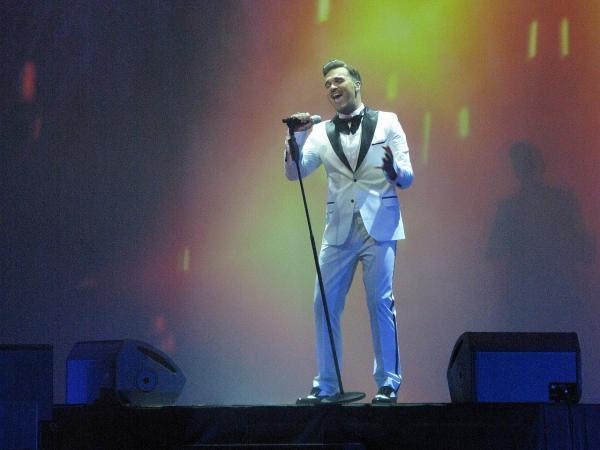 Александр Панайотов на сцене