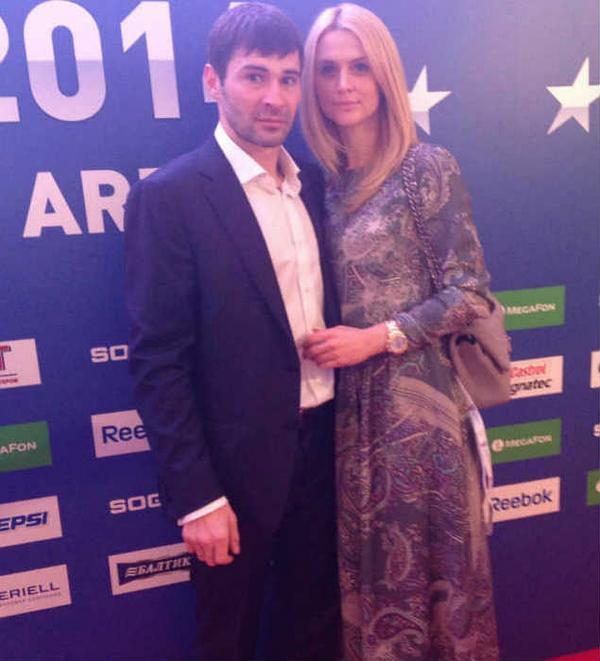 На фото: Александр Попов с женой Татьяной