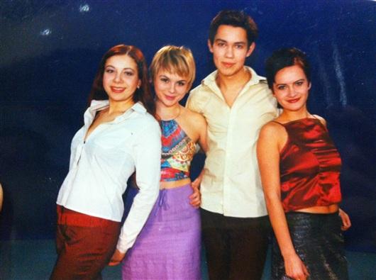 Александр Рогов в молодости