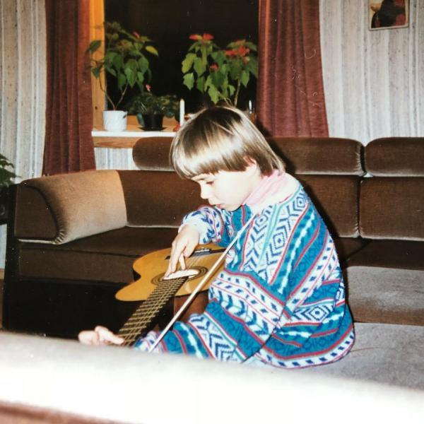 Саша Рыбак в детстве