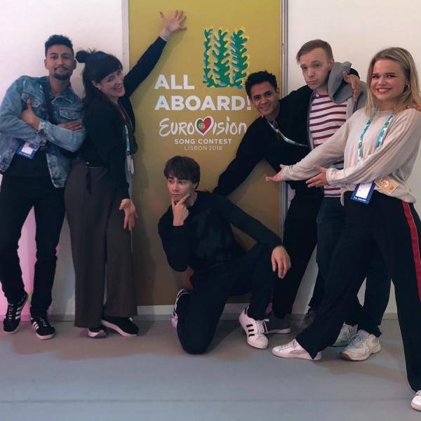 Александр Рыбак на Евровидении 2018