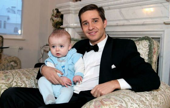 На фото: Александр Ратников с сыном