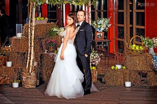 Свадьба Алексея Чадова и Агнии Дитковските. Фото: 7дней