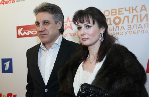 На фото: Алексей Пиманов с женой Ольгой Погодиной