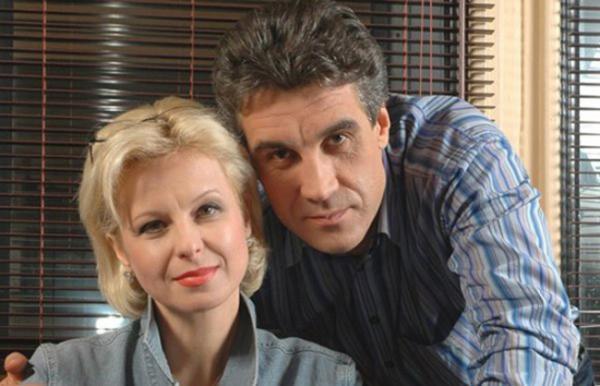 На фото: Алексей Пиманов с бывшей женой Валентиной
