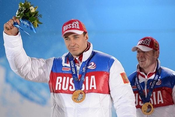 Золотая медаль Олимпиады в Сочи по бобслею - Алексей Воевода и Александр Зубков