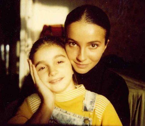 Алла Сигалова с дочерью Анной