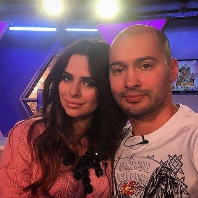 Андрей и его бывшая девушка Виктория Романец