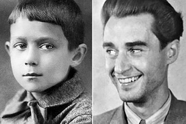 Андрей Дементьев в детстве и молодости