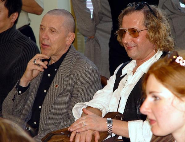 Андрей Житинкин и Валерий Золотухин