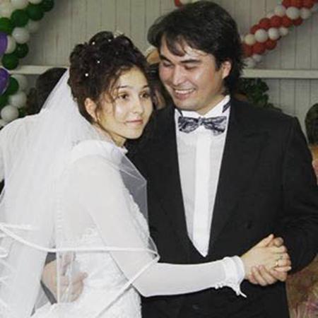 На фото: свадьба Армана Давлетьярова